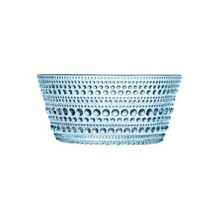 Iittala Glasschale Kastehelmi 0,23l hellblau