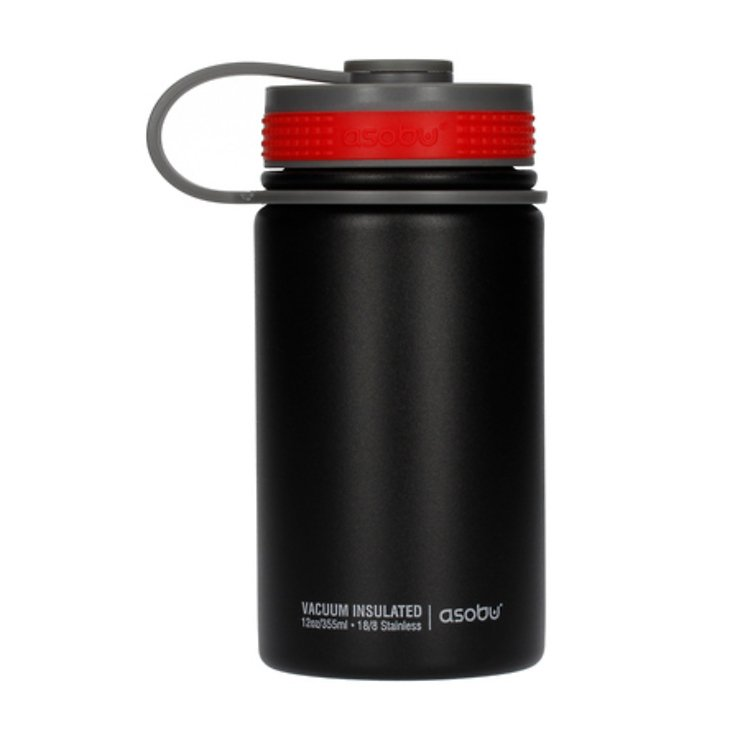 Asobu Thermobecher Mini Hiker 355ml schwarz rot