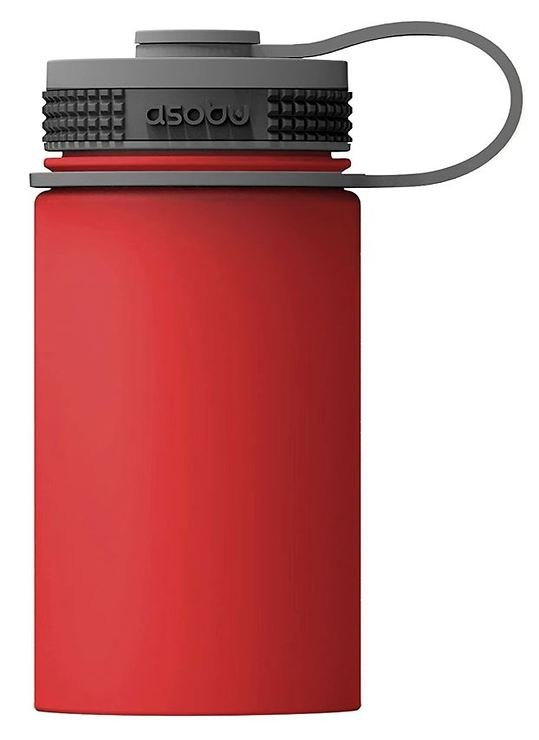 Asobu Thermobecher Mini Hiker 355ml rot grau