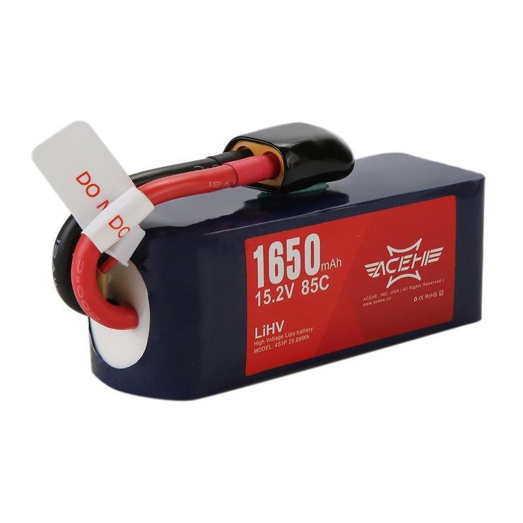 Acehe Batterie Lipo Akku 1650mAh 4S 100C