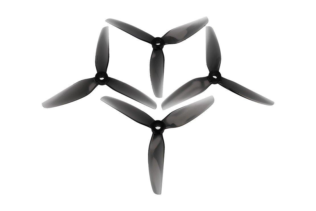 HQ Propeller 5131 Dreiblatt V1S Grau POPO 2CW+2CCW Glasfaser - Pic 1