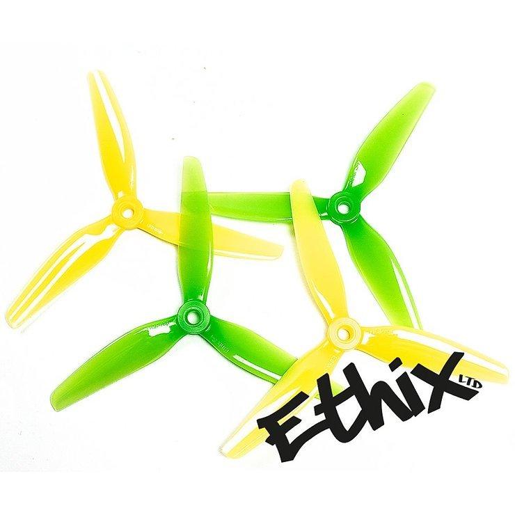 3 Blatt Ethix S4 Propeller Lemon Lime 4 Stück - Pic 1