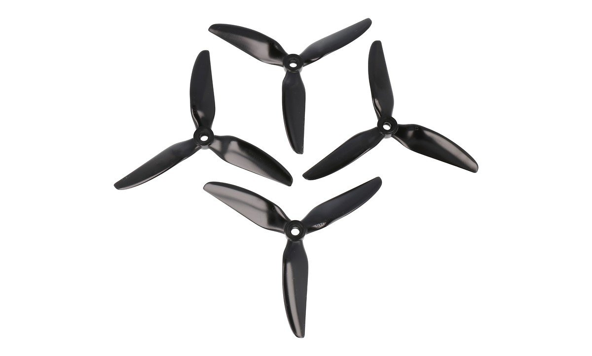HQ Propeller Durable 5048 Dreiblatt New 5X4.8X3V1S Schwarz 2CW+2CCW PC - Pic 1