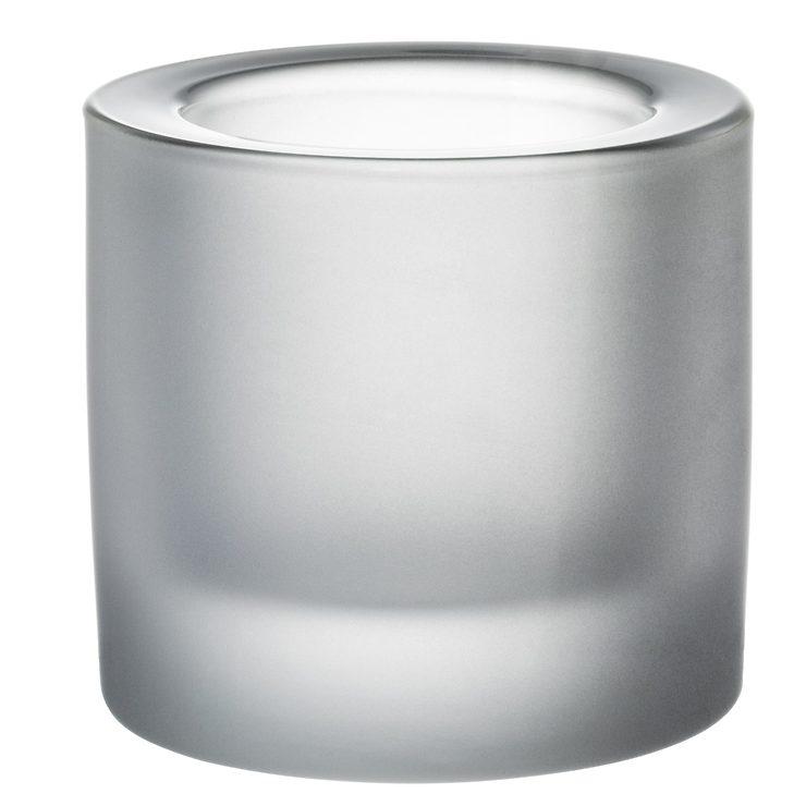 Iittala Kivi Teelichthalter matt 6cm