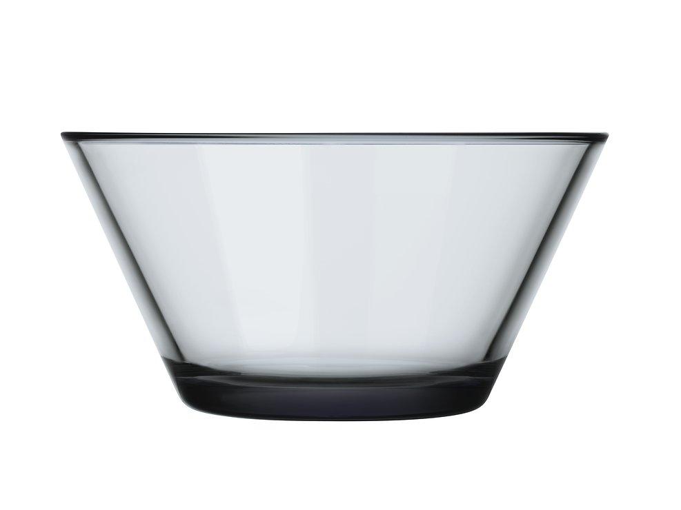 Iittala Glasschale Kartio grau 39cl