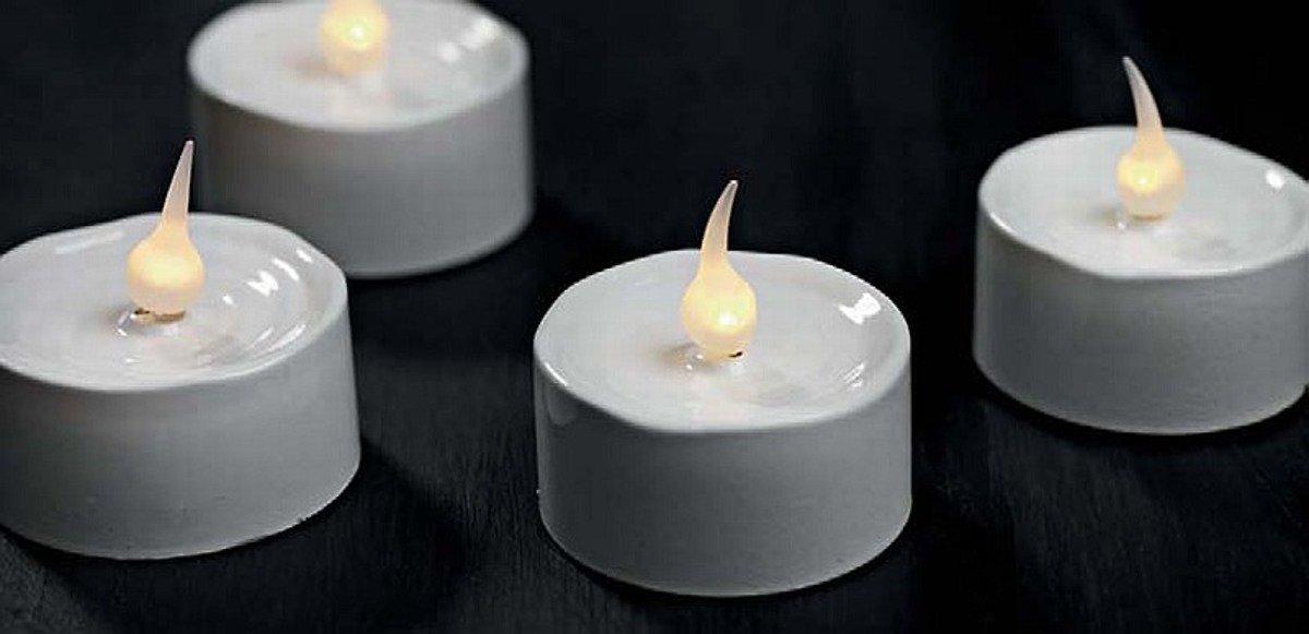 Sirius LED Teelichter Lone 3,5cm 6er Set weiß