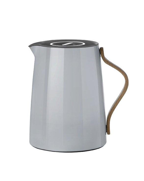 Stelton Tee Isolierkanne Emma 1l grau
