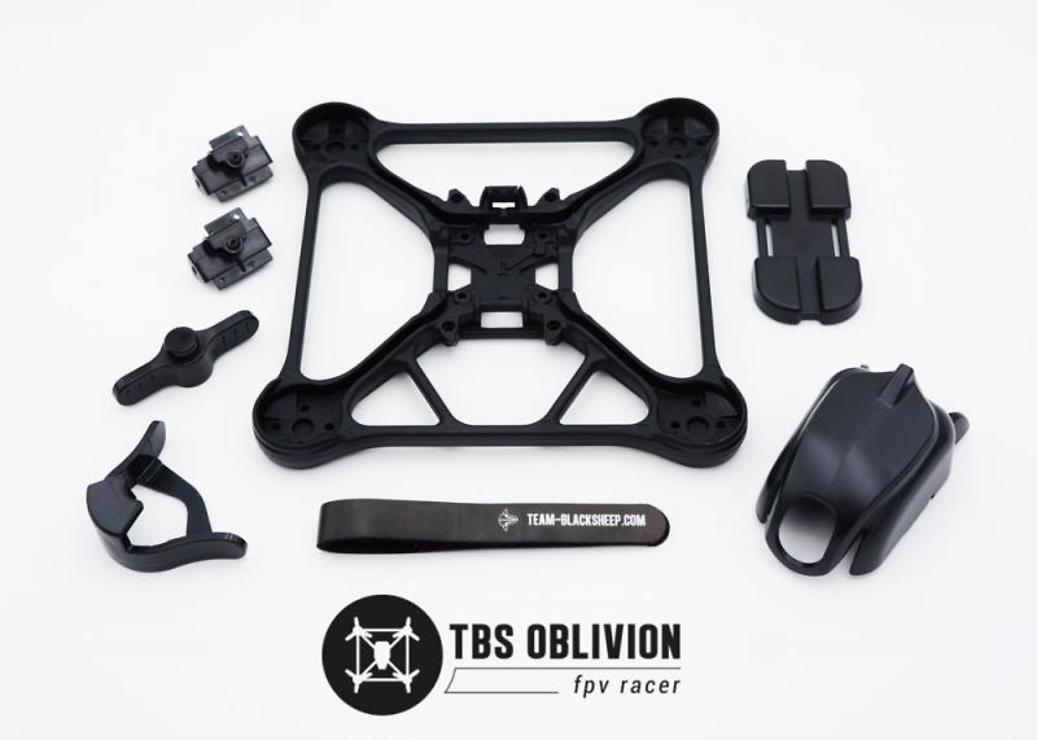 TBS Ersatzframe Set für Oblivion Multicopter - Pic 1